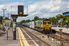 16th May 13:  In a fortunate patch of sun 66503 speeds through Twyford with 4L31 the 09.03 from Bristol FLT to Felixstowe