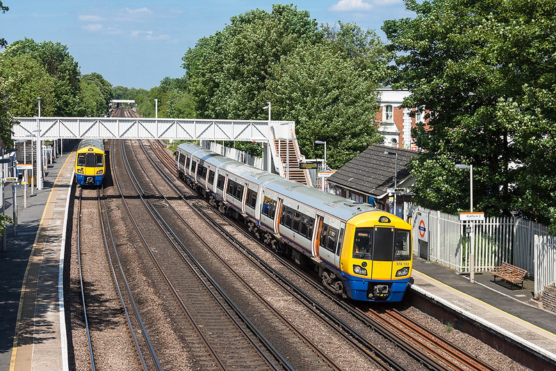 27th May 13:  Pausing at Anerley is 378152 forming 9C37 the14.26 Dalston Junction to West Croydon