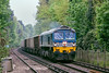 20th May 13:  Powering up the 1 in 120 away from Ascot is 59002 in charge of 7Z20 from Grain to Merrehead