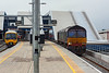 11th Apr 13:  After a crew change in Platform 15 a very dirty 66416  starts away with 4L62 from Bristol FLT to Felixstowe