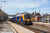 14th Apr 13:  The 11.15 from Alton to Waterloo, 2A36. formed of 450075 arrives at Bentley