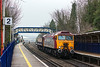 11th Apr 13:  57311 towing 47832 as 0Z30 from Crewe to Eastleigh are on time as they run through Reading West