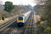7th Apr 13:   43012+43181 form the 10.10 Waterloo to Penzance passing the bridge in Ashmoor Lane exactly on time