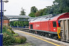 7th Aug 13:  Leaning to the curve through Taplow is 59202 heading 7C77 from Acton to Merehead