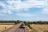 1st Aug 13:  HST working 1G47 t he 15.36 Paddington to Cheltenham and a big sky at Manor Farm in Cholsey