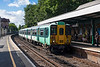 4th Aug 13:  455843 runs into Crystal Palace with 2S13 the 08.45 from Sutton to Victoria
