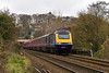 7th Dec 13:  Travelers on 2Z52 the 12.15 from Westbury to Bath Spa were treated to a spot of  luxury in the form of an HST.  A number of extra trains were run in Connection with the Bath Christmas Markets. 43056 is on the front