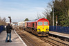 18th Feb 13:  56205 on the point of 6C76 from Acton Yard to Whatley swings through Reading West