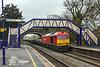 6th Feb 13:  60010 is the rosterd power fror the morning departmental from Hinksey to Eastleigh.  Captured here at Mortimer