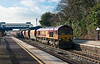 15th Jan 13:  66023 on 6M20 from Whatley to St Pancras at Twyford