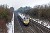 23rd Jan 13:  180102 is almost on time at Shottesbrooke as it works 1P40 the 09.04 from Great Malvern to Paddington