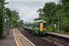 3rd Jul 13:  377136 rolls into Glynde with the 14.23 from Ore to Brighton