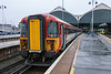 4th Jul 13:  On a rather wet wednesday 442207+442210 stand at Brighton awaiiting the next call of duty