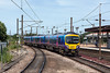 14th Jul 13:  185103 departs from platform 10 at York when working 1P32 the  12.20 from Manchester Airport to Newcastle