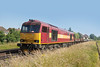 7th July 13:  60065 on the point of 6N13 to Addlestone from Eastleigh East Yard runs through Egham