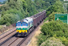22nd July 13:  Running on time away from Bracknell is 59001 on 7Z20 the 10.58 from Grain to Merehead