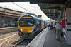 14th Jul 13:  185103 in platform 10 at York  working 1P32 the  12.20 from Manchester Airport to Newcastle
