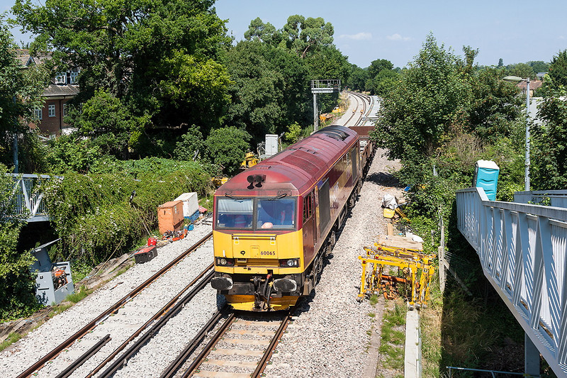 7th Jul 13:  60065 crawls into the possession at Coxes Lock