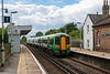 3rd Jul 13:  377131 on 1F28 the 13.47 Victoria to Ore screams through Glynde