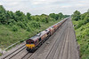 10th Jun 13:  66193 on the point of 6X44 carrying Ford cars from Dagenham to Didcot Yard.  Southbury Lane