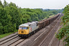 19th Jun 13:  56311 plods through Lower Basidon with spoil in boxes from Willesden to Calvert