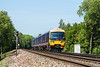 5th Jun 13:  The 10.04 from Reading to Redhill  formed of 166219 passing signal GD 947 between Ash and Wanborough