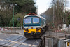 13th Mar 13:  Crossing the A30 at Sunningdale is 59101 working 6Z20 from Grain to Merehead