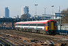 31st Mar 13:  Gatwick Express set 442405 in the spur out of Selhurst Depot