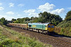 11th Oct 13:  66620  takes 6M40 from Exeter Riverside to Stud Farm away from Hawkeridge Junction