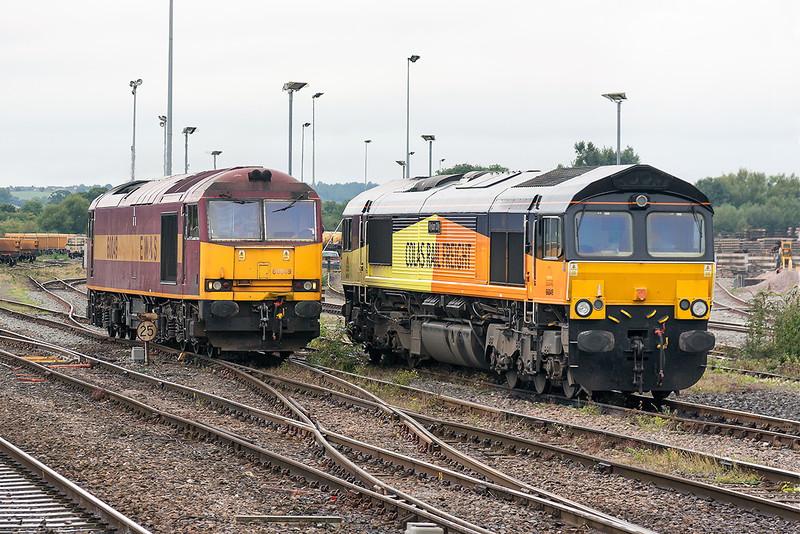 23rd Sep 13:  60049 and 66849 at Westbury
