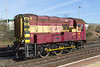 "24th Mar 14:  The replacement shunter at Westbury is 08799 ""Fred"""