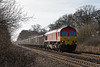 19th Mar 14: 59204 with 7Z75 from Whatley to Oxford Banbury Road nearing Fairwood