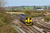 29th Mar 14:  Despite the head board 150233 is making it's way to the<br />  sidings