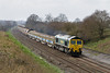 26th Mar 14:  At Compton Beauchamp- is 66606 heading 6M40 from Westbury to Stud Farm