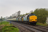 20th Apr 14: 37612+37611+47810 at a very wet Sherrington Lane when working 1Z48 from Whitchurch in <br /> Shropshire to Eastleigh in preparation  for the Easter Monday 'Heart of Wales Meanderer' tour