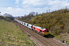 1st Apr 14:  59205 with 7Z12 from Merehead to Wootton Bassett leaves Chippenham