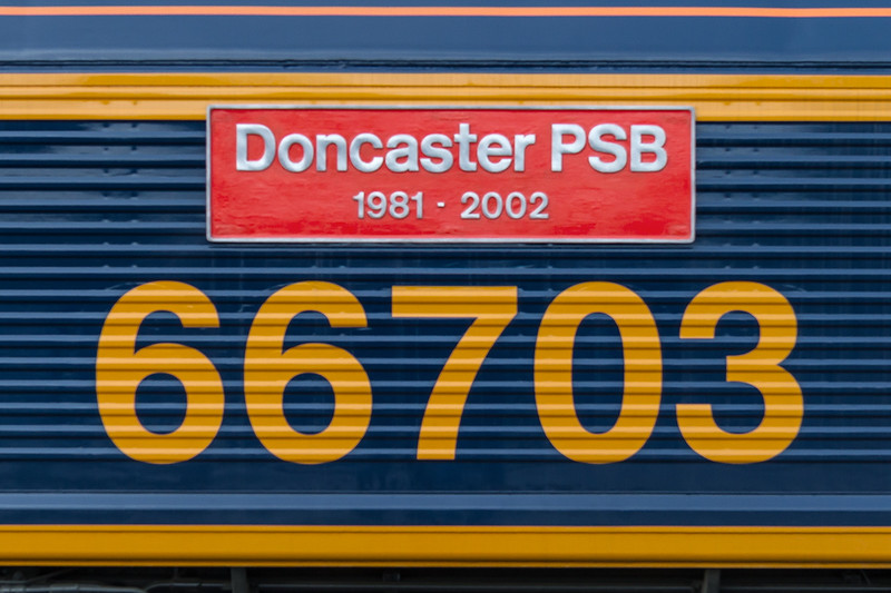 15th Dec 14:  66703 is now in Europorte Livery