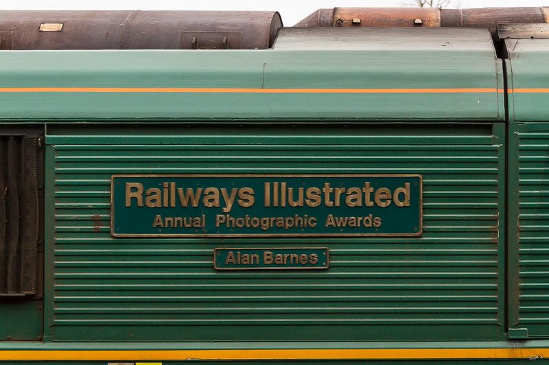 22nd Dec 14:  The name plate on 66618