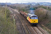 18th Feb 14:   56302 heads the returning Departmental 6Z29 from Exeter Riverside to Westbury.  Captured at Fairwood.