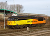 2nd Feb 14:  Colas Rail Freight 56302 stands at Westbury awaiting the call of duty.