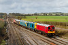 25th Feb 14:  Working from Okehampton to Derby Gas Tank Sidings are 20189 and 20142 hauling 47375, 31459 & 47769,  Captured at Fairwood Junction