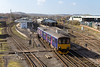 26th Feb 14:  Leaving Westbury 150120 states a destination of Southampton but   A) that is the wrong way B)   it went to the holding sidings