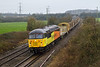 12th Jan 14:  Looking good despite the weather and sounding beautiful 56078 hurries through Berkley Marsh with 6C51 the LWR train returning from Totnes to Westbury