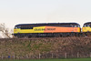 11th Jan 14:  Colas Rail Freight 56078 leads 56113 on a returning departmental from Eastleigh to Westbury (6Z31),  The location is Penleigh
