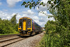 7th Jul 141:   158766 is 3 minutes late as it runs though Heywood on 2F97 the 08.50 from Great Malvern to Westbury