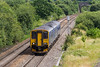 26th Jun 14:  Despite what the blind states this is the 10.41 from Gloucester to Weymouth nearing Fairwood Junction.  2O89 is composed of 150246 and 153382