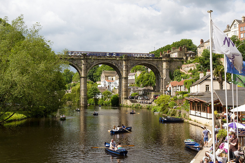 1st Jun 14:  The River Nidd through Knaresborough