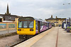 1st Jun 14:  Standing at Saltburn is 142016 with 2D35 the 14.58 to Bishop Aukland