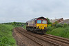 5th Jun 14:  With no load 66088 runs as 0N40 from Tees Yard to Skinningrove British Steel.  Pictured at Long Beck