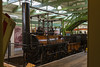 3rd June 14:  The one that started it all.  George Stephendon's 'Locomotion' that  was used to haul the first ever tain on a public tailway on 27th September1825 from Shildon to Stockton, a distance of 18 miles